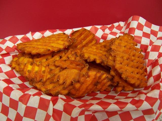 Sweet Potato Waffle Fries – Boomer's Drive-In | Bellingham