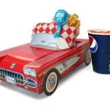 Kids Meal - A Boomer's Kids Burger or a Corn Dog, fries and a small pop