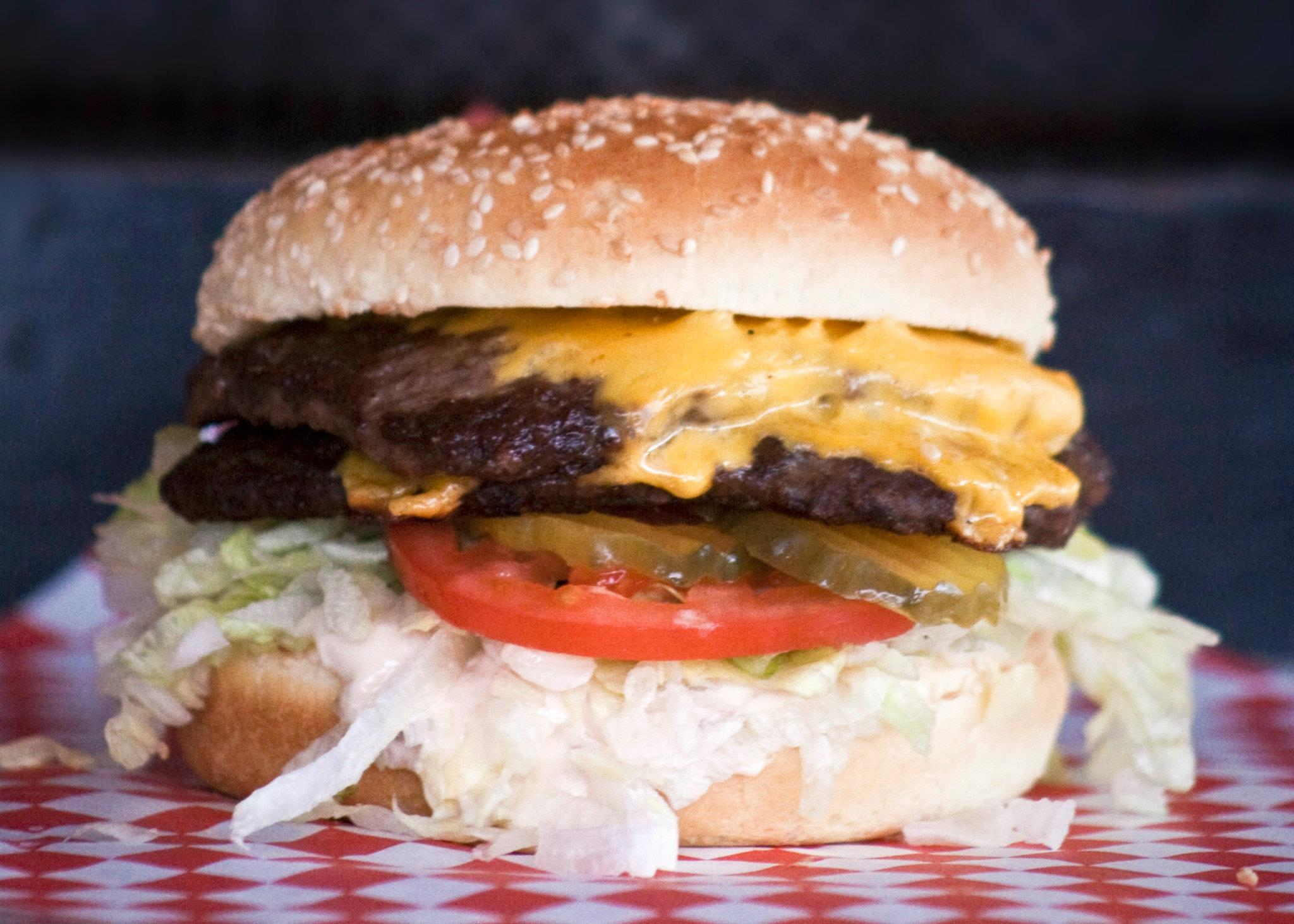 Boomer's Big Boom Burger