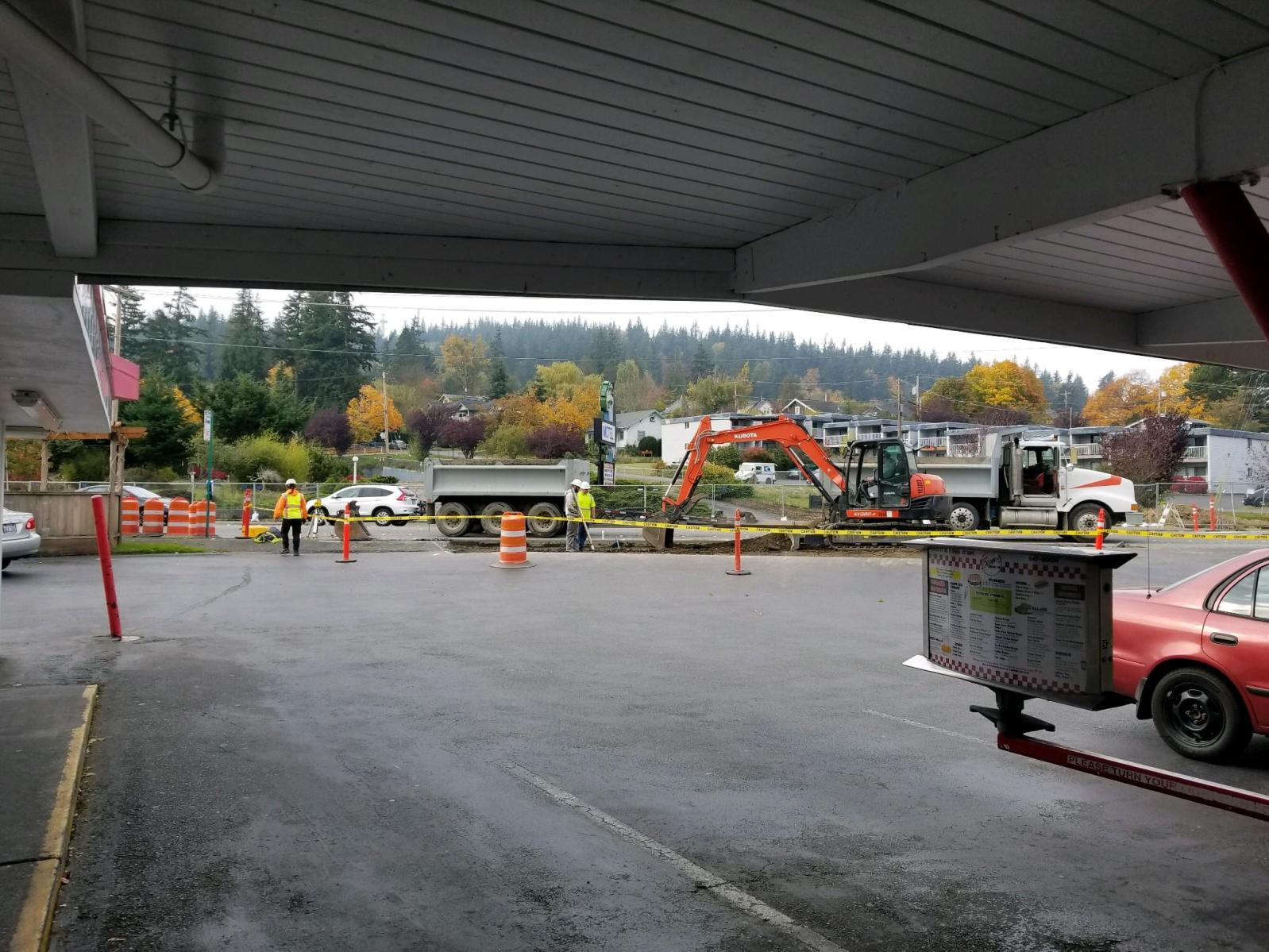 sidewalks getting a makeover on samish way 2018-10-23